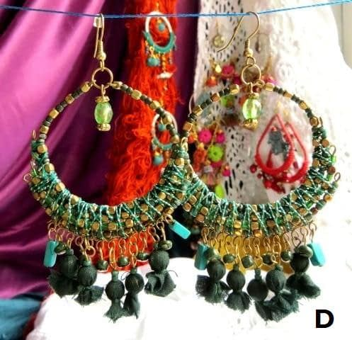 Gipsy Earrings Pendientes Orecchini es Online Gioielli