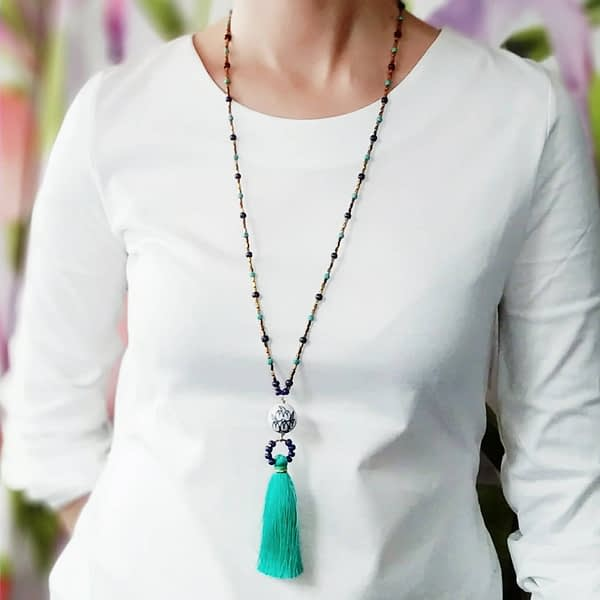 Tassel Necklace - Collar Borla - Collana Nappina
