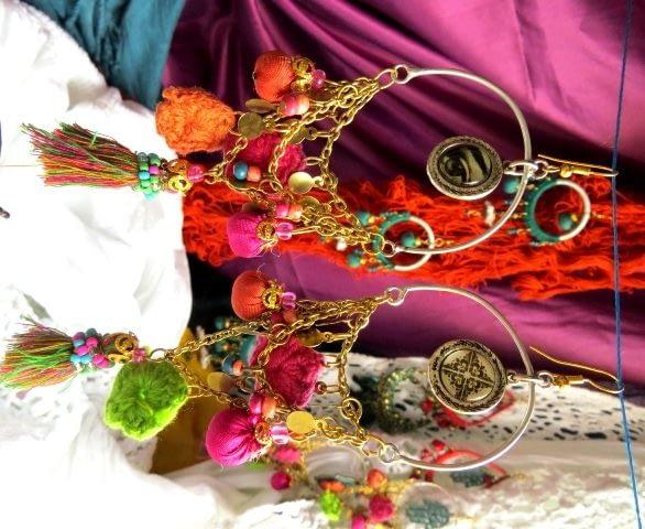 Gipsy Earrings Pendientes Orecchini es Online Gioielli