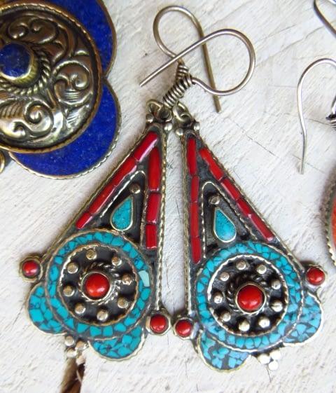 orecchini etnici pendientes etnicos